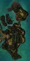 Island of Shehkah map