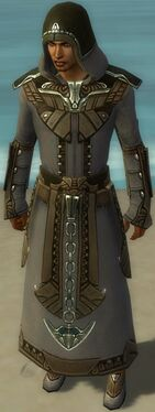 Dervish Asuran Armor M gray front