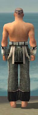 Monk Elite Sunspear Armor M gray arms legs back