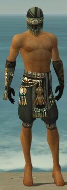Ritualist Elite Luxon Armor M gray arms legs front
