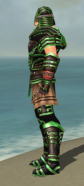 Warrior Ancient Armor M dyed side