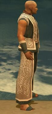 Monk Tyrian Armor M gray side