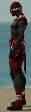 Ritualist Kurzick Armor M dyed side