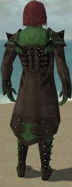 Mesmer Obsidian Armor M dyed back