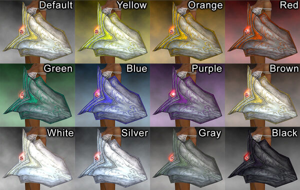 Oppressor's Shield dye chart