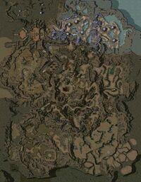 The Underworld map