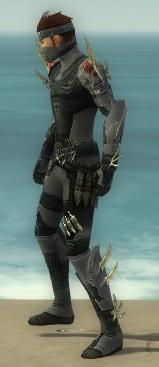 Assassin Elite Imperial Armor M gray side