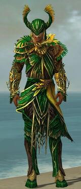 Disciple of Melandru M dyed front