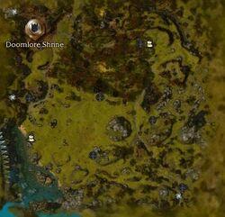 Dalada Uplands Map