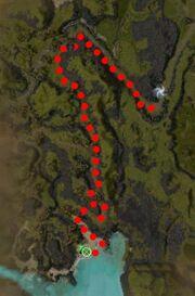 Hurc the Fisherman Map