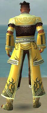 Monk Deldrimor Armor M dyed back