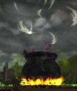 Halloween LionsArch Cauldron