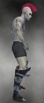 Demonhorn Boots M gray side