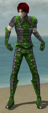 Necromancer Ascalon Armor M dyed front