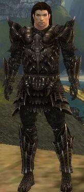 Warrior Elite Dragon Armor M nohelmet