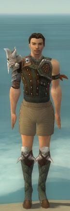 File:Ranger Elite Studded Leather Armor M gray chest feet front.jpg