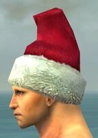Stylish Yule Cap gray side
