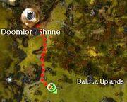 Siege Devourer Dalada Uplands map
