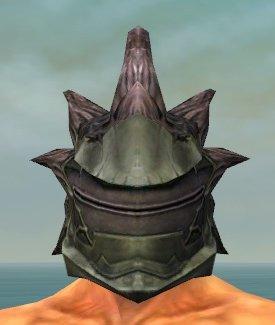 File:Warrior Primeval Armor M gray head front.jpg
