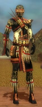 Ritualist Elite Canthan Armor M dyed front
