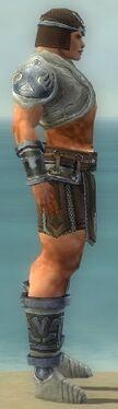 Warrior Gladiator Armor M gray side