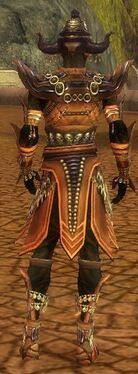 Ritualist Obsidian Armor M gray back