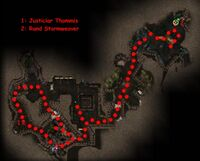 Justiciar Thommis Map