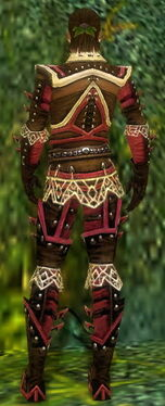Ranger Elite Kurzick Armor M dyed back