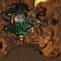 Corrupted Isle map
