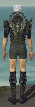 Necromancer Krytan Armor M gray chest feet back