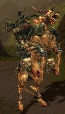 Necrid horseman