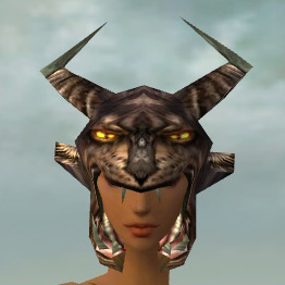File:Warrior Charr Hide Armor F gray head front.jpg