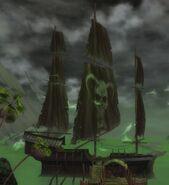 Halloween LionsArch Ship