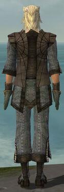 Elementalist Sunspear Armor M gray back