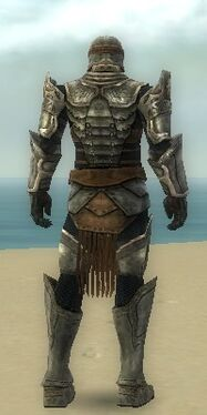 Warrior Sunspear Armor M gray back