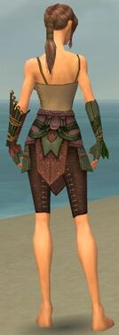Ranger Druid Armor F gray arms legs back
