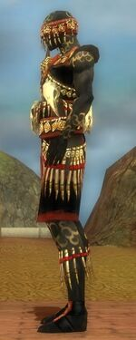 Ritualist Elite Canthan Armor M dyed side