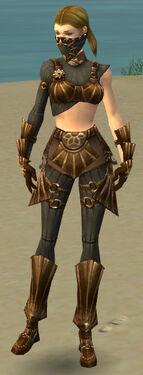 Ranger Sunspear Armor F gray front