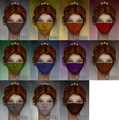 Norn Woad F dye chart