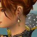 Elementalist Elite Kurzick Armor F dyed earrings