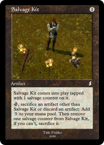 File:Taki's Salvage Kit Magic Card.jpg