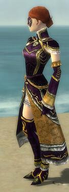 Mesmer Elite Sunspear Armor F dyed side