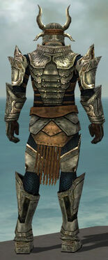 Warrior Elite Sunspear Armor M gray back