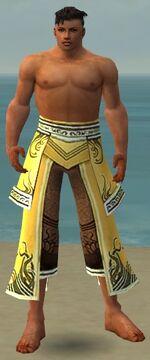 Aureate Pants M dyed front
