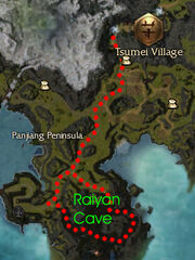 Rayain Cave map