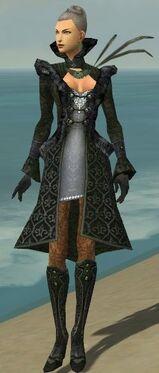 Mesmer Elite Elegant Armor F gray front