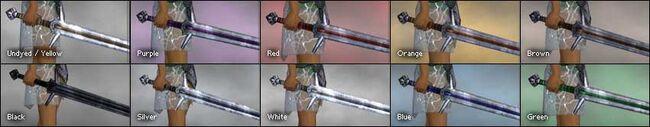 Highlander Blade colored