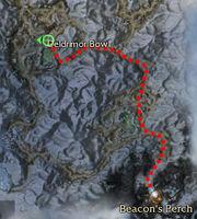 GraggultsKeep location