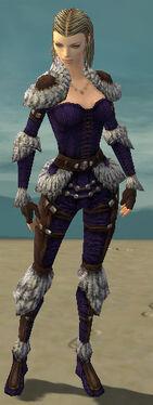 Ranger Elite Fur-Lined Armor F dyed front
