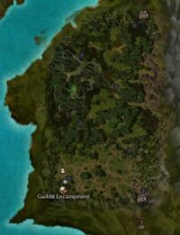 Sparkfly Swamp Map